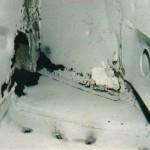 Rust Damaged Door Cavity